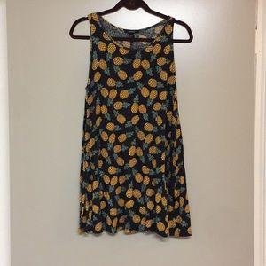 Pineapple slip dress